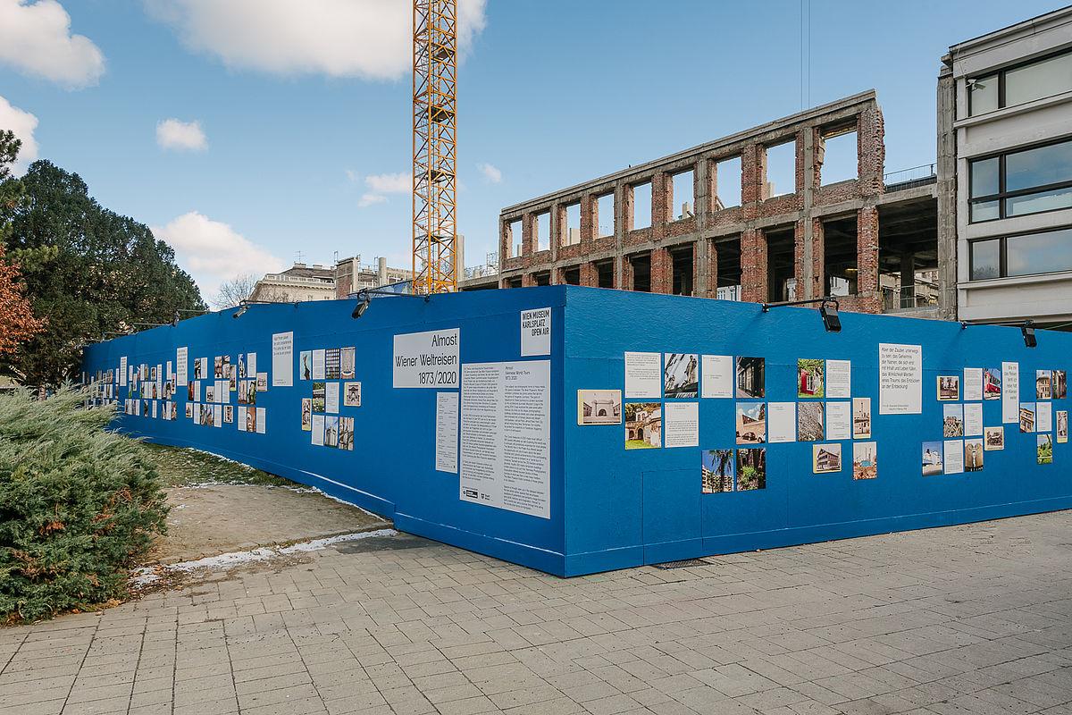 Instagram Challenge zur Open-Air Ausstellung ALMOST. WIENER WELTREISEN